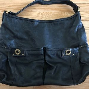 Marc by Marc Jacobs all leather black hobo